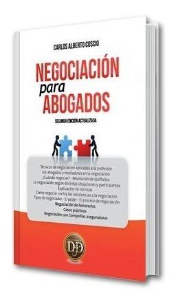Negociación Para Abogados - Coscio - Ediciones Dyd