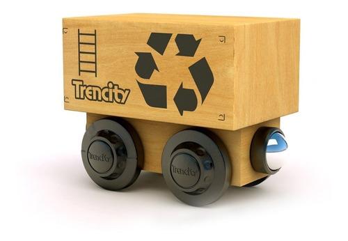Imagen 1 de 8 de Trencity Vagón Container - Col. Héroes - Tienda Oficial