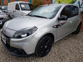 Renault Sandero Gt Line Full Equipo 2015 Gris Estrella