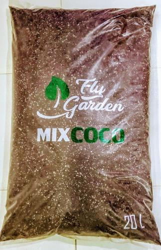 Sustrato Fibra De Coco Mix Coco 20 Lt