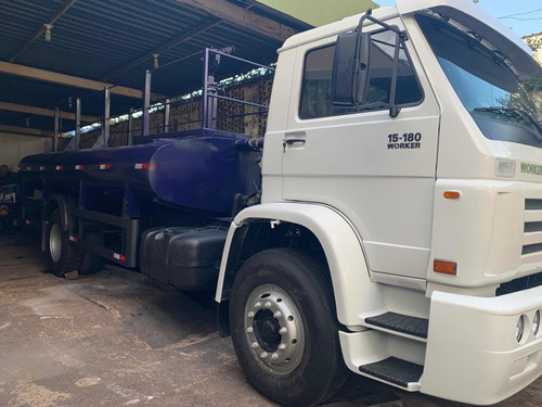 Caminhao Vw 15180 Pipa Com Tanque De Agua Unico Dono Revisad