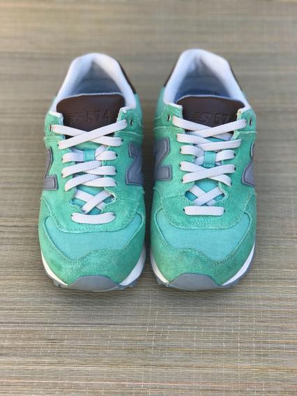 New Balance 574 Verde 5.5 Usa