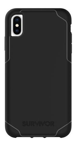 Funda Para iPhone Xs Max Griffin Survivor Strong - Black