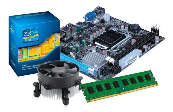 Kit Processador I5 3470 + Placa Mãe H61 + 8gb Ddr3 + Nfe