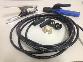 Kit Para Inversora De Solda Com Cabo 25mm
