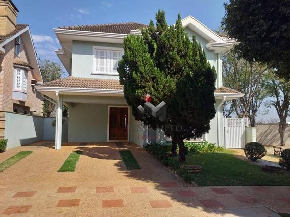 Sobrado Com 4 Dormitórios À Venda, 421 M² Por R$ 2.500.000 - Condomínio Monterey Alto Da Boa Vista - Ribeirão Preto/sp - So0158