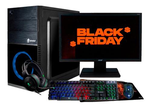 Pc Gamer Intel/ Core I5/ 8gb/ Wifi / Radeon 2gb /monitor 19