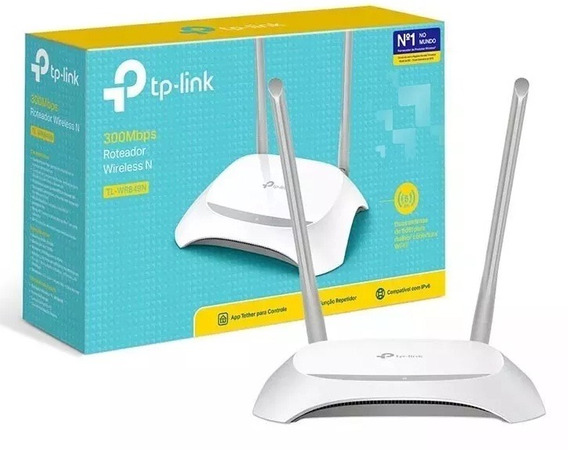 Roteador Wireless Tp-link 300mbps Tl-wr849n C/ Repetidor Nfe