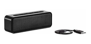 Amazonbasics - Altavoz Estereo Bluetooth (9 W Resistente Al