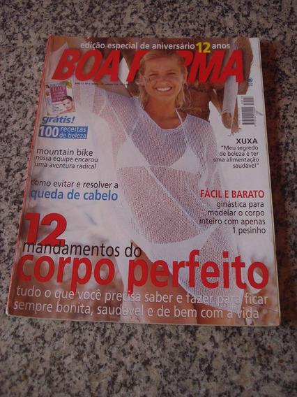 Revista Boa Forma 118 Xuxa Beleza Receitas 1997 F206