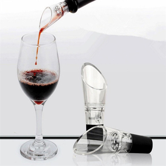 Decanter Pourer - Aireador, Decantador, Oxigenador De Vinos