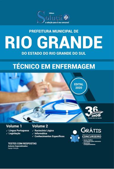 Apostila Concurso Rio Grande Rs - Técnico Em Enfermagem