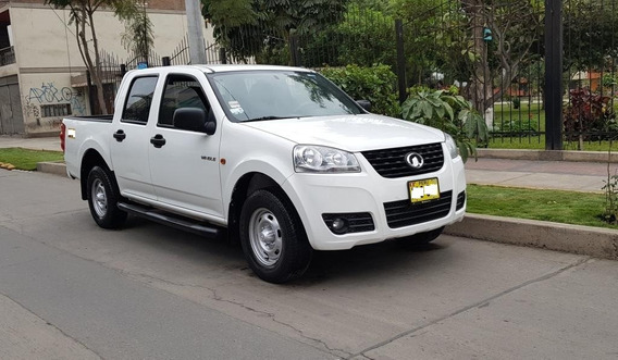 Vendo Camioneta Doble Cabina Great Wall Wingle 5 2014 U/dueñ
