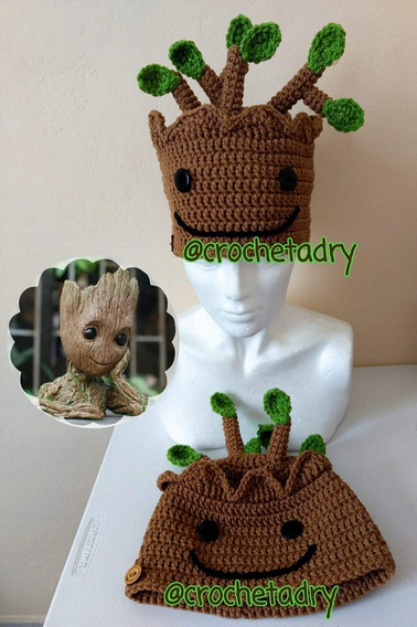 Gorro Groot Bebé Crochet