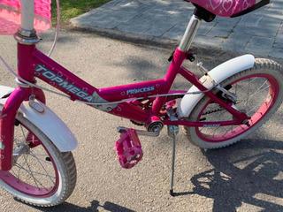 Bicicleta Nena Topmega Princess Rod 16