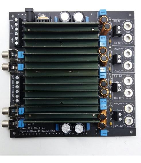 Placa Amplificadora De Audio Board Class D ( Aa-ab009)