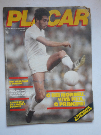 Revista Placar Nº 666 - Fev/1983 - Corinthians, Flamengo