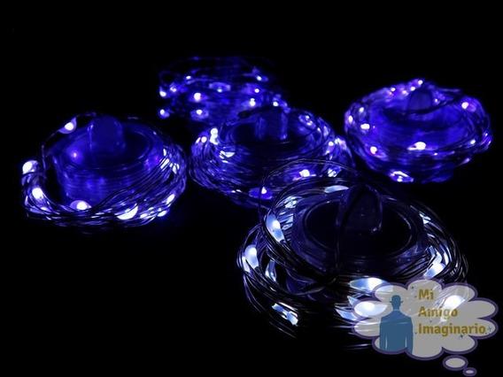 Serie De Luz Led Fria Sumergible Paquete Con 10 Piezas