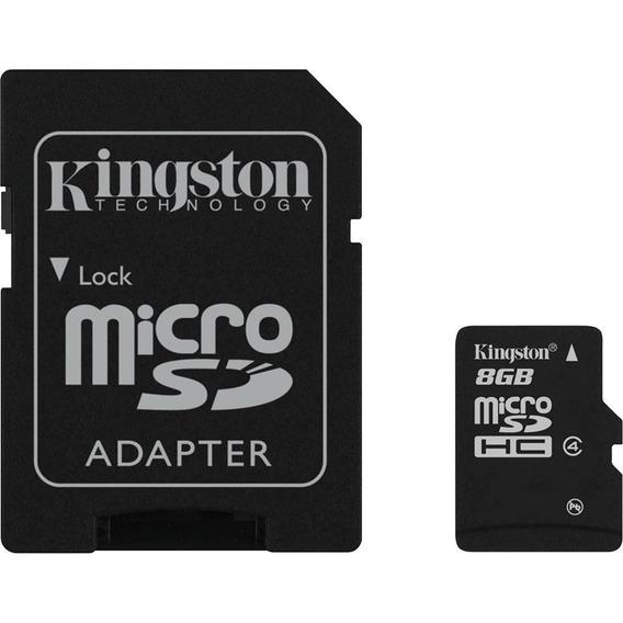 Cartão De Memória Kingston M.sd 2x1 8gb Hb1 45mbs