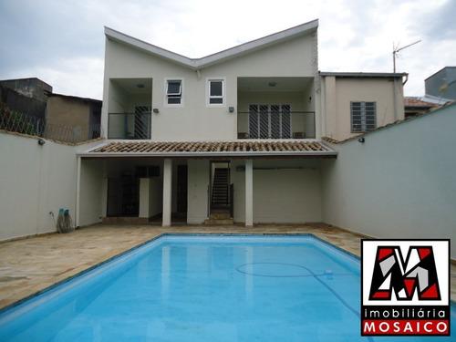 Imagem 1 de 15 de Casa No Centro Pode Ser Residencial Ou Comercial, Sobrado Com Piscina. - 22842 - 33590993