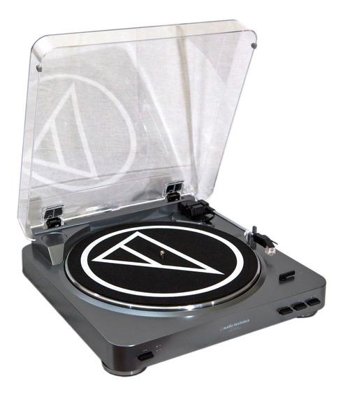 Toca Disco Audio Technica Atlp60 Usb At Lp60 Novo Na Caixa
