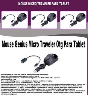 Mouse Genius Micro Traveler Otg Para Tablet