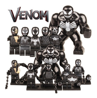 Set 6 Figuras Spiderman Venom, Bloque De Construccion