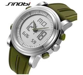 Relógio De Pulso Unisex Sinobi