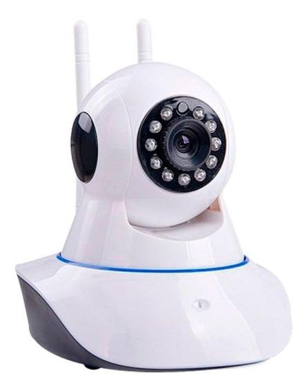 Câmera Pet Ip Sem Fio Wifi Hd 720p Robo Wireless Com Áudio