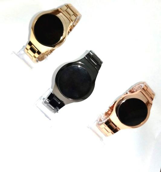 Atacado 10 Relógios Feminino Digital Led Touch + Caixa.