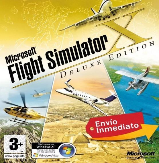Flight Simulator Fsx 2020 + Completo + Aeronaves 2020