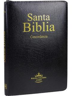Biblia Negra Índice Cierre Canto Rojo Reina Valera 1960