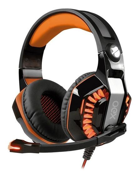 Fone De Ouvido Headset Beast Surround 7.1 Vibração Hs404 Oex