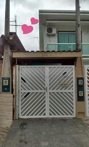 Imagem 1 de 17 de Casa De Condomínio Com 2 Dorms, Cidade Naútica, São Vicente - R$ 240 Mil, Cod: 2053 - V2053