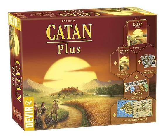 Juego Catan Plus - Nuevo Y Sellado - Envio Gratis / Diverti