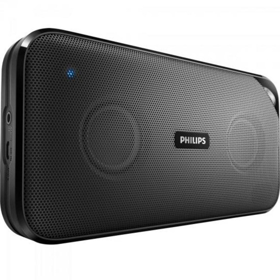 Caixa 10w Bluetooth Microfone Bt3500b00 Preto Philips