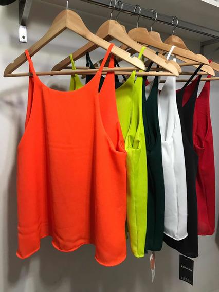 Blusa Mujer Lisa Varios Colores Moda 2019