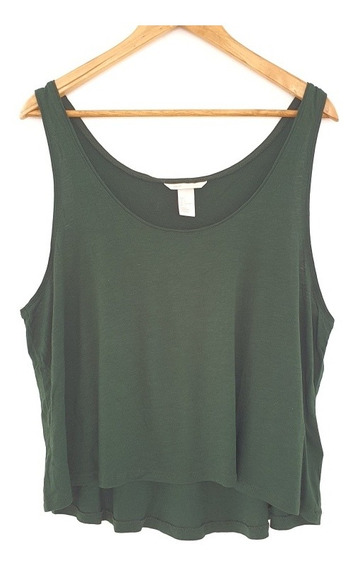 Musculosa H&m Verde Talle L
