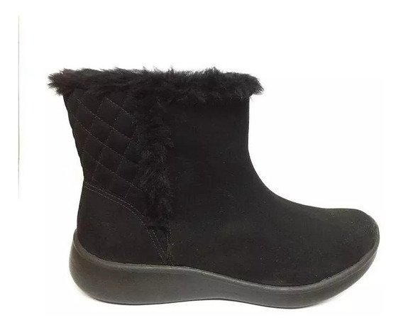 Botas Mujer Negra Corderito Piccadilly 980001
