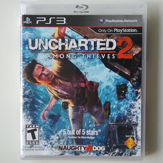 Uncharted 2 Para Ps3 Mídia Física Original Perfeito