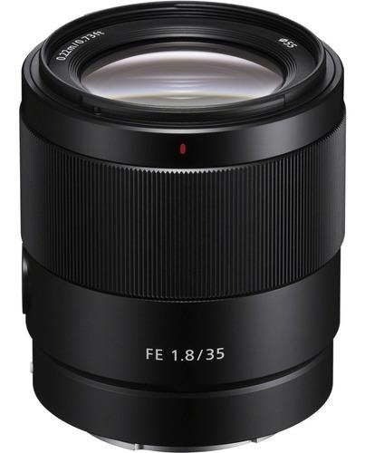 Lente Sony Fe 35mm 1.8 F Para Full Frame Nueva Versión