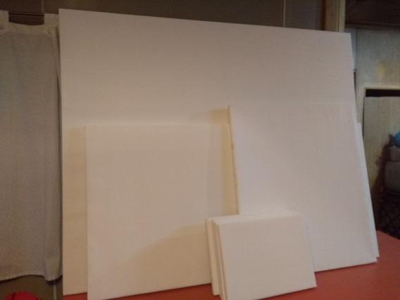 Bastidor Entelado Para Pintar Óleo Y Acrílico 130 X 80 Cm