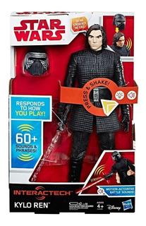 Kylo Ren Star Wars Figura Interactiva Original Hasbro