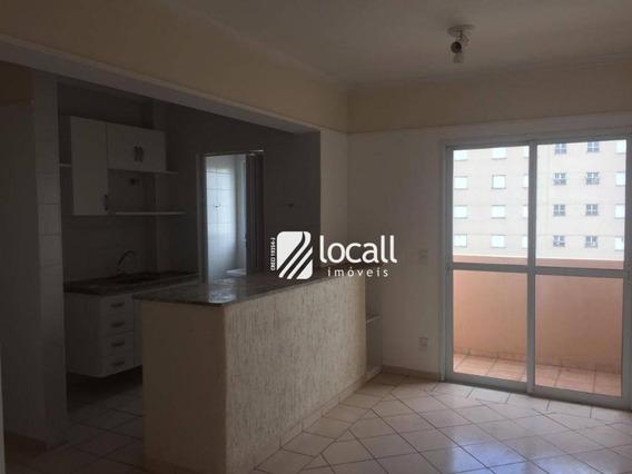 Apartamento Com 1 Dormitório À Venda, 50 M² Por R$ 220.000 - Vila Redentora - São José Do Rio Preto/sp - Ap1791
