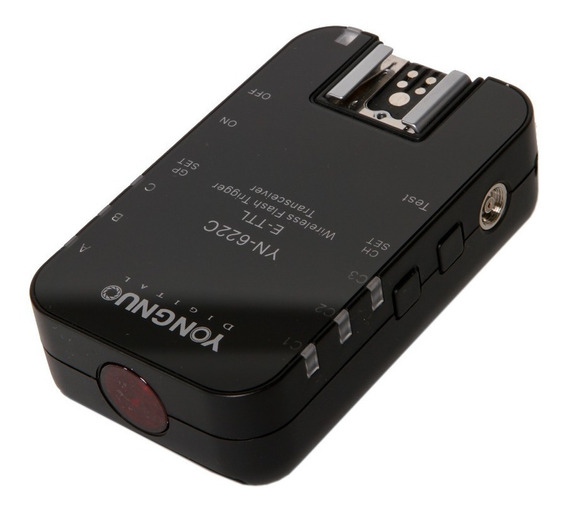 Radio Flash Transceiver Yn622c Yongnuo Para Canon (unid.) Nf