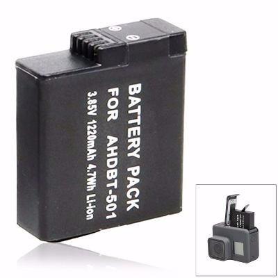 Bateria Recarregável Extra Para Gopro 5 6 Hero 7 Black