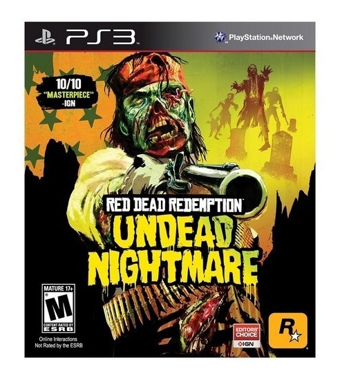 Game - Red Dead Redemption: Undead Nightmare - Ps3