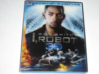 Blu Ray I Robot / Yo Robot 3d ( Cover Lenticular)