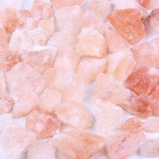 Piedra De Roca De Sal De Himalaya Rosa Natural 2.1lbs Para
