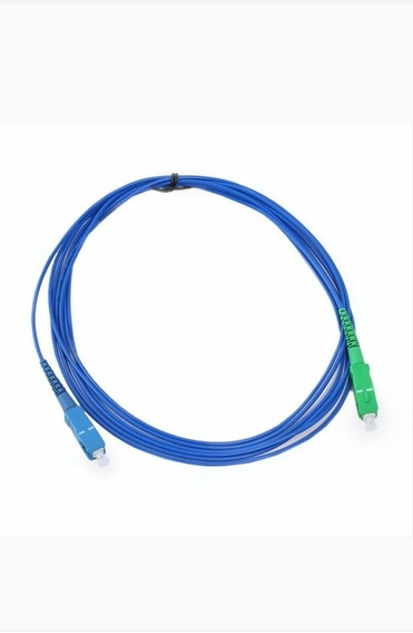 Kit 10 ** Cordão Sc/apc Sc/upc Single Mode Simplex 3.0mm 2m